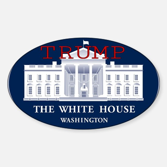 TRUMP WHITE HOUSE Decal