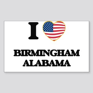 I love Birmingham Alabama USA Design Sticker