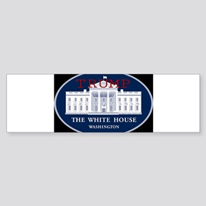 TRUMP WHITE HOUSE Bumper Sticker