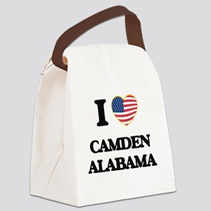 I love Camden Alabama USA Design Canvas Lunch Bag