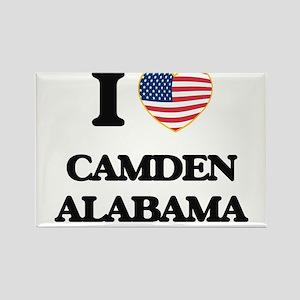 I love Camden Alabama USA Design Magnets