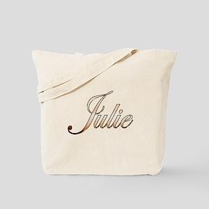 Gold Julie Tote Bag