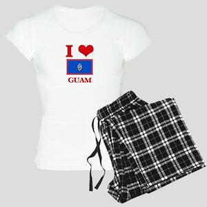 I Love Guam Pajamas