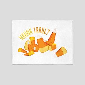Wanna Trade? 5'x7'Area Rug