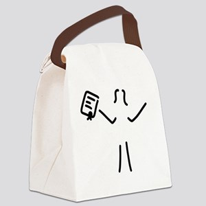 happy about degree Canvas Lunch Bag