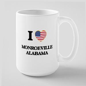 I love Monroeville Alabama USA Design Mugs