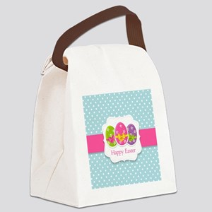 Happy Easter Canvas Lunch Bag