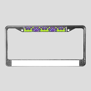 Diamond Stars License Plate Frame