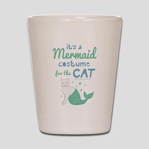 Modern Family Mermaid Cat Shot Glass