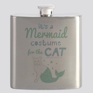 Modern Family Mermaid Cat Flask