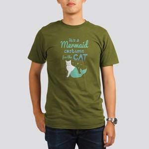 Modern Family Mermaid Organic Men's T-Shirt (dark)