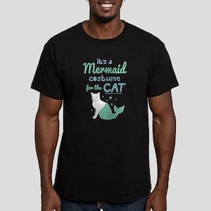 Modern Family Mermaid Men's Fitted T-Shirt (dark)