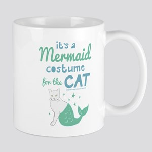 Modern Family Mermaid Cat Mug