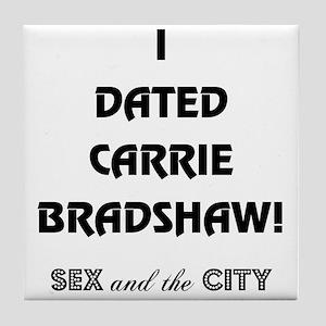 CARRIE BRADSHAW Tile Coaster