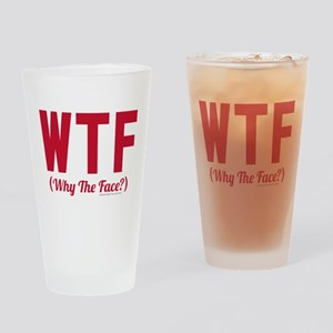 Modern Family WTF Drinking Glass