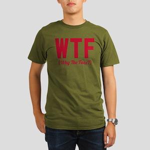 Modern Family WTF Organic Men's T-Shirt (dark)