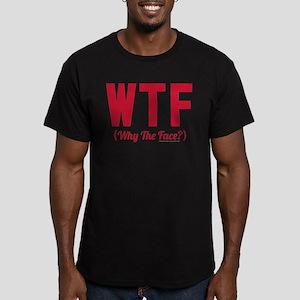 Modern Family WTF Men's Fitted T-Shirt (dark)