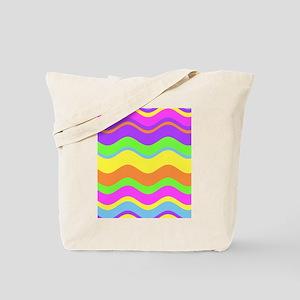 Beachy Waves Tote Bag