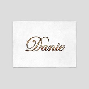 Gold Dante 5'x7'Area Rug