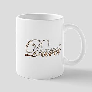 Gold Darci Mugs