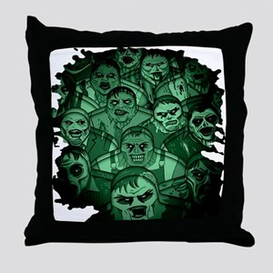 The Gaming Dead Throw Pillow