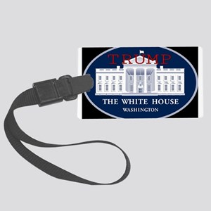 TRUMP WHITE HOUSE Large Luggage Tag