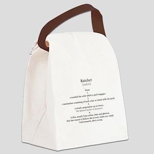 ratchet Canvas Lunch Bag