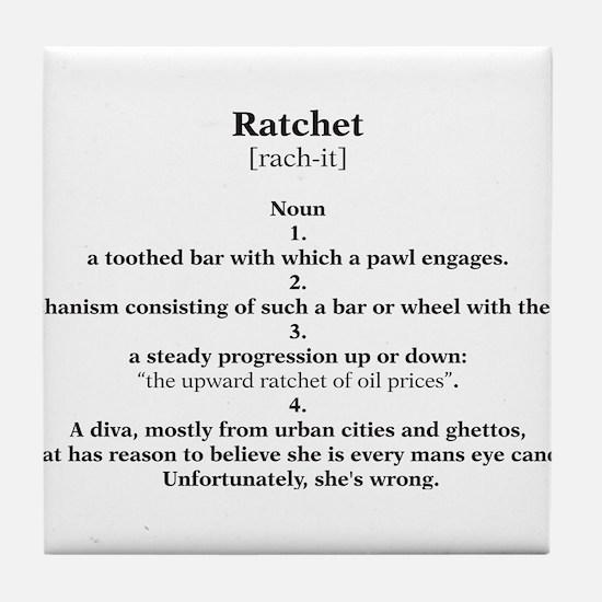 ratchet Tile Coaster