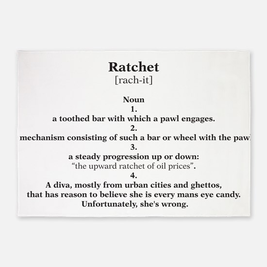 ratchet 5'x7'Area Rug