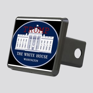 TRUMP WHITE HOUSE Rectangular Hitch Cover