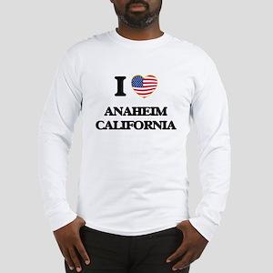 I love Anaheim California USA Long Sleeve T-Shirt
