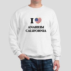 I love Anaheim California USA Design Sweatshirt