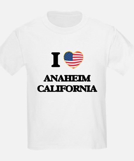 I love Anaheim California USA Design T-Shirt