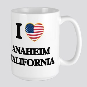 I love Anaheim California USA Design Mugs