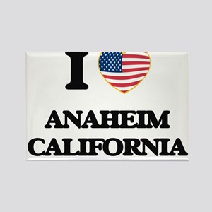 I love Anaheim California USA Design Magnets