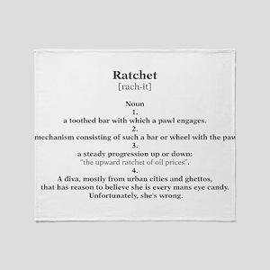 ratchet Throw Blanket