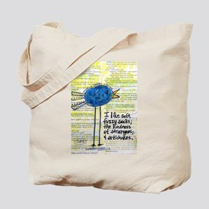 Hippie Chick Kindness And Artichokes Tote Bag