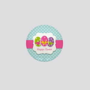 Happy Easter Mini Button