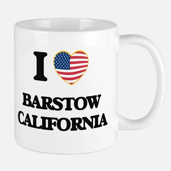 I love Barstow California USA Design Mugs