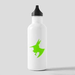 Pteranodon Silhouette (Green) Water Bottle