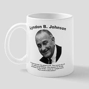 LBJ: Education Mug