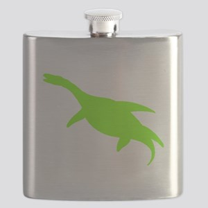 Macroplata Silhouette (Green) Flask