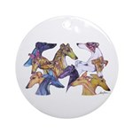 Andrea Zimon_1 Ornament (Round)
