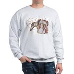 Greyhound Swirls Sweatshirt