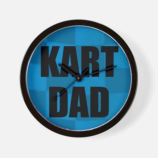Kart Dad Wall Clock