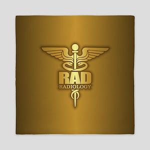 Radiology Gold Queen Duvet