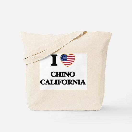 I love Chino California USA Design Tote Bag