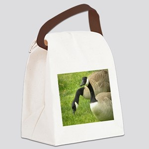 Geese Canvas Lunch Bag