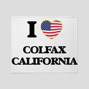 I love Colfax California USA Design Throw Blanket
