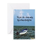 The Past Card Greeting Cards